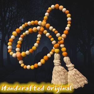 Candy Corn Beaded Garland Halloween 🎃 B020